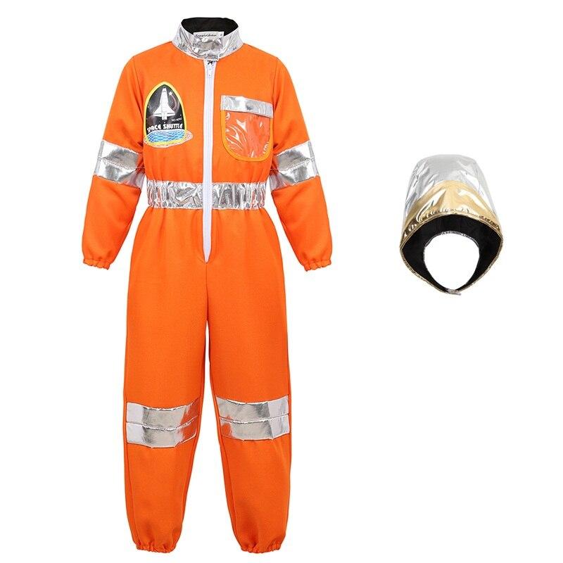 Boys Childs Kids Astronaut Costume Space Suit Toddler Astronaut Role Play Suit