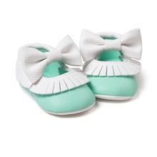 green white babies shoes butterfly knot sneakers shoes baby first walkers newborn infantil bebe shoes by Pu leather 0~18month
