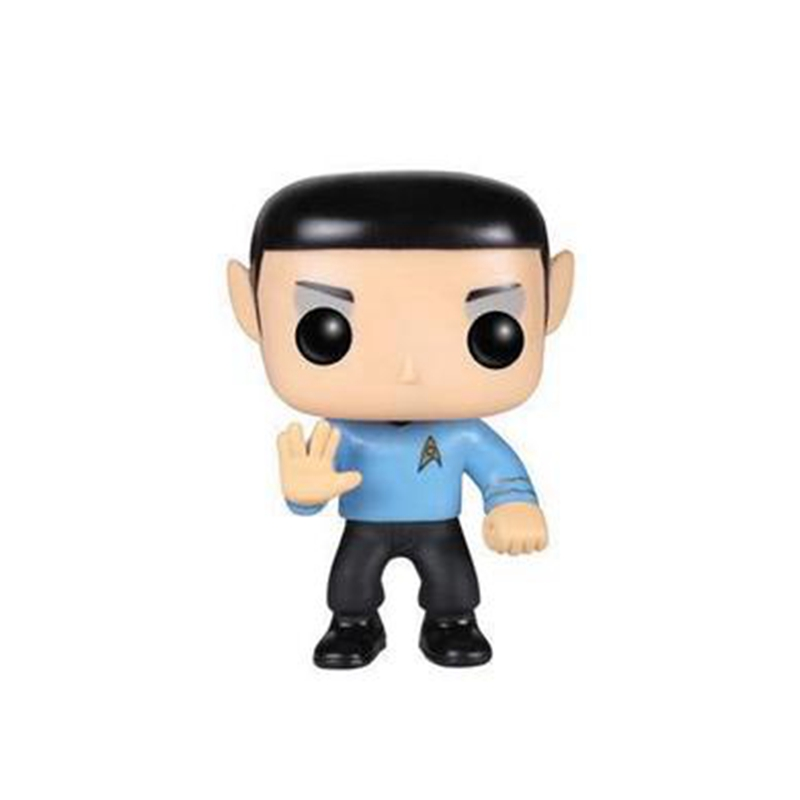 10cm The Star Trek Spock POP Action Figure Toy For Kids Gifts
