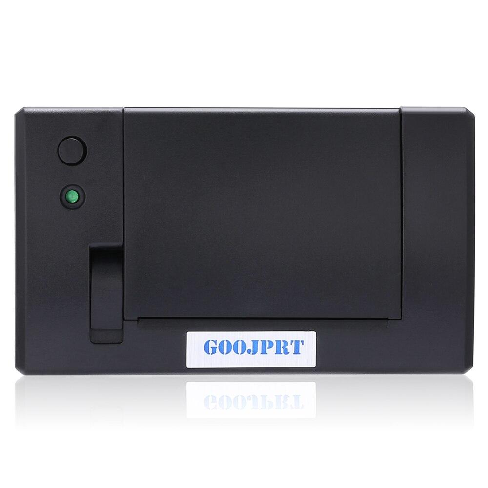GOOJPRT QR701 Mini 58mm Embedded Empfang Thermische Drucker RS232/TTL für Supermarkt Lager