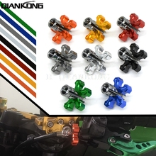 5 colors Motorcycle CNC Billet Clutch Cable Wire Adjuster Screw M8*1.25 For YAMAHA TDM 850/900 TDM850 TDM900 XT660 R/X BT1100