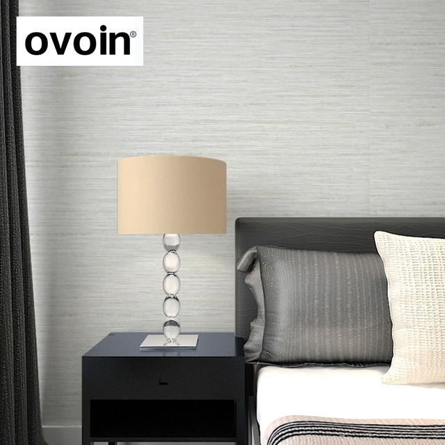 Vinyl Beige Solid Horizontale Gestreifte Tapete Für Wände Leinen Texturen  PVC Wandpapierrolle Schlafzimmer Grau Tapeten