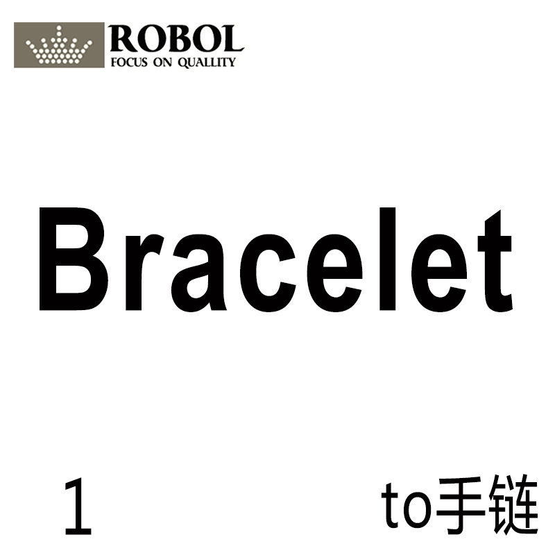 ROBOL Premium Products Link original Sterling Silver Jewelry, Please Contact The Seller To View The Jewelry Catalogue-Bracelet-1ROBOL Premium Products Link original Sterling Silver Jewelry, Please Contact The Seller To View The Jewelry Catalogue-Bracelet-1