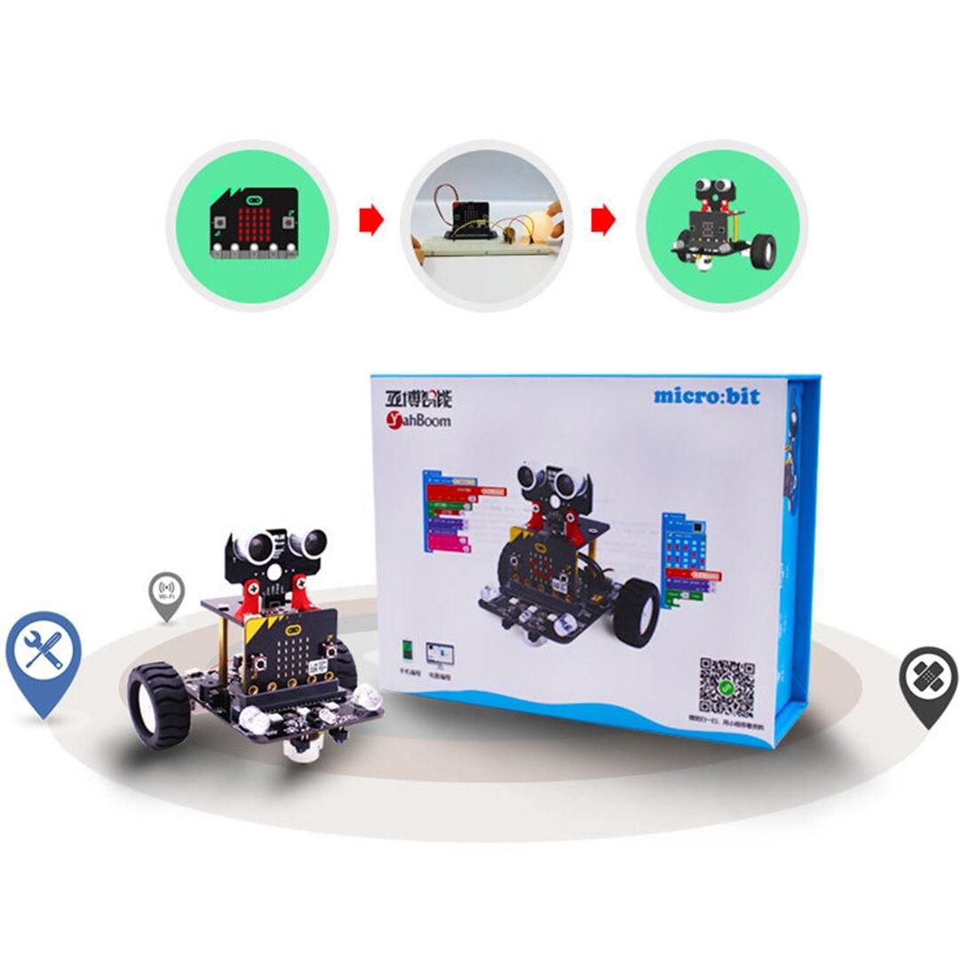 Carro programável gráfico do robô com bluetooth