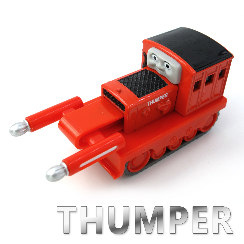Diecasts Vehicles Thomas T131D THUMPER Thomas And Friends Magnetic Tomas Truck Car Locomotive Engine Railway Train Toys for Boys