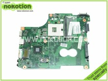 V000238070 for toshiba satellite C600 C630 C650 laptop motherboard Intel HM65 GMA HD3000 DDR3