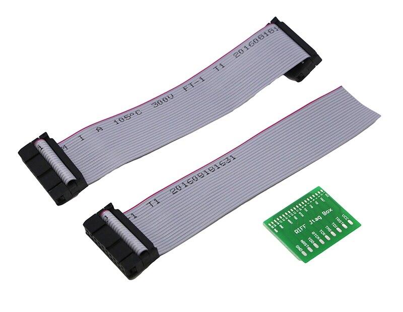imágenes para Flex Cable Con junta de PCB Para RIFF box/ORT JTAG/Z3X fácil JTAG/MÁSTER ERASMUS MUNDUS PRO JTAG cable plano con adaptador 3 en 1 Unidades envío gratis