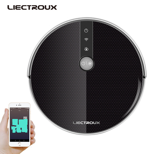 Image 3 - LIECTROUX C30B Robot Vacuum Cleaner 4000Pa Suction 2D Map Navigation Smart Memory WiFi App Electric Water Tank Wet Mopping