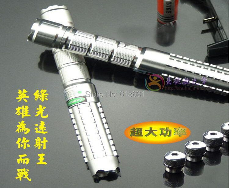 Free Shipping Green Laser Pointer 80000MW (890) 532nm Laser Pen Adjustable Focus Burn Match With 5*caps Free Shipping