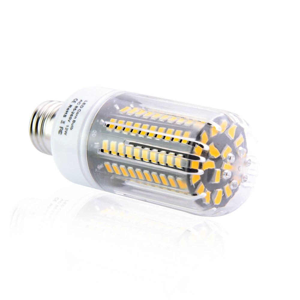 2018 NEW 5736 SMD LED Corn lamp E27 E14 E12 3W 15W Bulb light 85