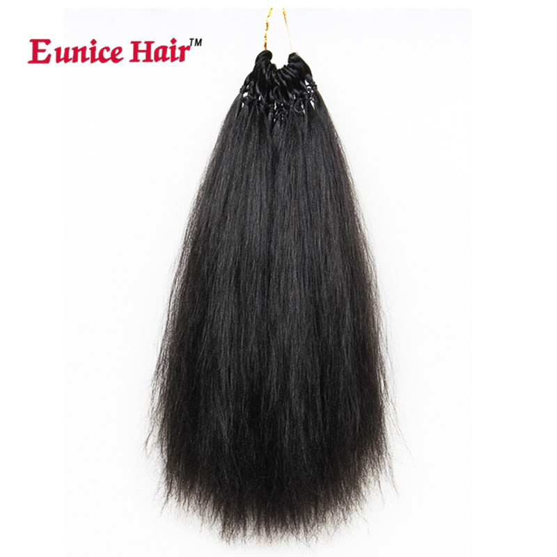3PCS/lot Synthetic Eunice hair extension crochet braids yaki straight pre looped braiding hair bundles hairstyles for uk