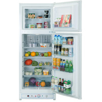 Smad 110V 240V Electric Gas Refrigerator For Home Low Noise No Freon Double Door Absorption Propane