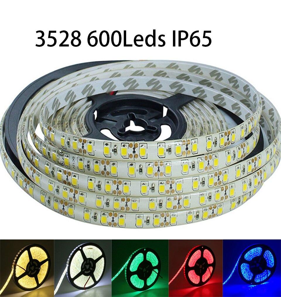 Waterdichte IP65 LEIDENE Band 3528 SMD 600led 5M DC12V Flexibele - LED-Verlichting