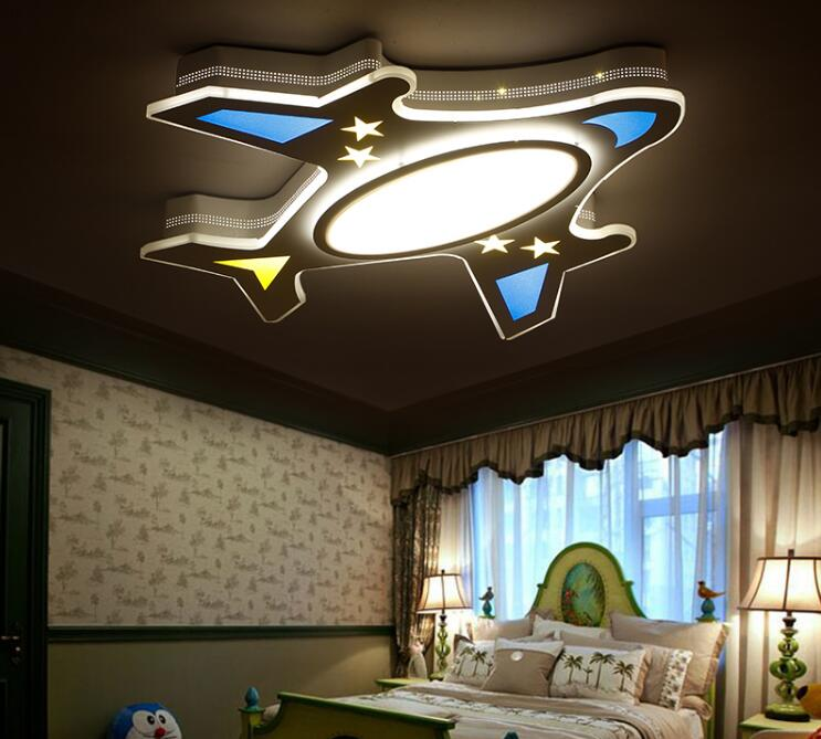 15 Ultra Modern Ceiling Designs For Your Master Bedroom: Acrylic LED Ceiling Lamp For Children Room Ultra Thin