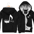 New 2017 Fashion Thick Warm Winter Mens Hoodies And Sweatshirts Printed Zeppelin Pub Rock Band Cardigan Plus Velvet Jackets XXXL