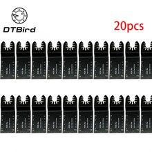 20 個の多機能バイメタル精密鋸刃振動マルチツールは、の Renovator ため電源切断マルチツール