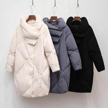 Duck warm Coat Women Winter Clothing 2019 Female Jacket High Quality Knee Length Vintage Down Jacket For Women Parka Overcoat цены онлайн