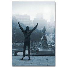 Rocky Balboa Boxing Art Silk Poster Print 13×20 inch Motivational Movie Sylvester Stallone Picture for Room Wall Decor 009