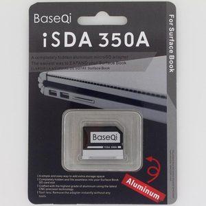 "Image 5 - Original BaseQi Aluminum MiniDrive Micro SD Card Adapter For Microsoft Surface Book / Surface Book 2 13.5"" micro sd reader"