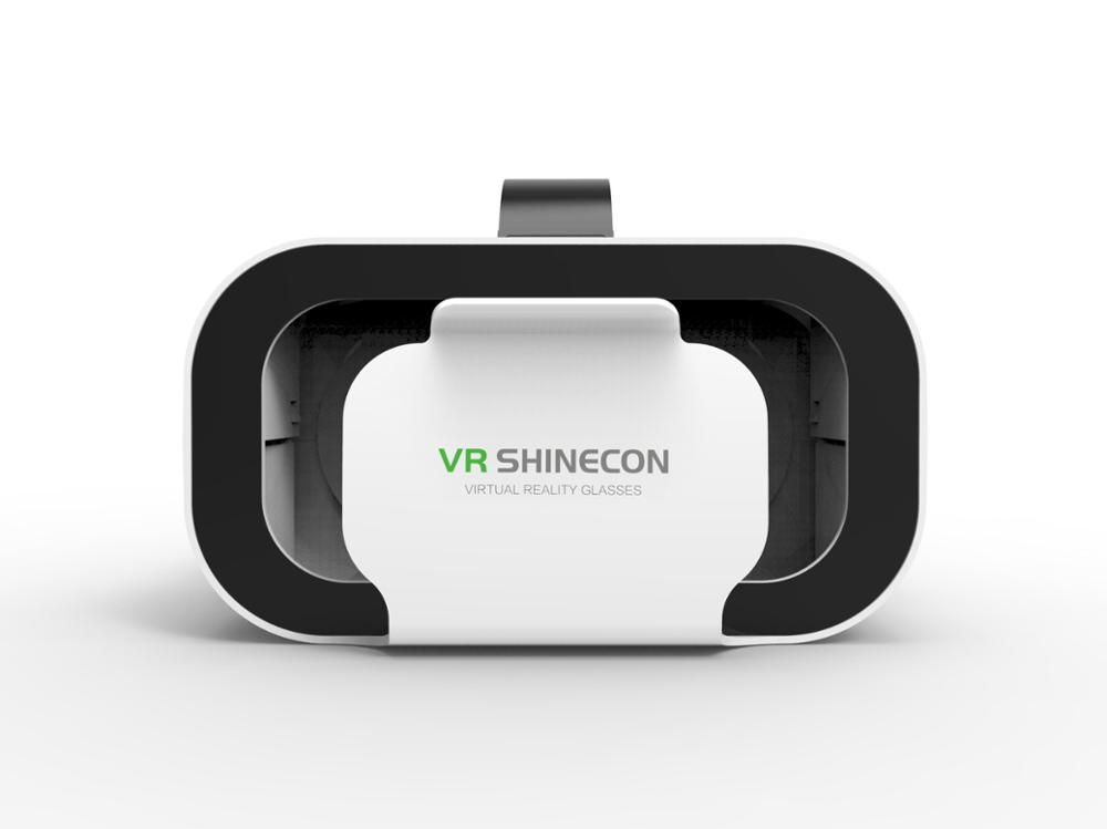 VR SHINECON BOX 5 Mini VR Glasses 3D Glasses Virtual Reality Glasses VR Headset For Google cardboard Smartp 5