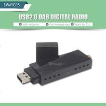 USB 2.0 Digital DAB Radio del Receptor del Sintonizador Del Palillo Para Android Coches Reproductor de DVD Autoradio Estéreo DAB + Digital audio broadcasting
