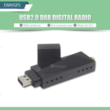 USB 2.0 Digital DAB Radio Tuner Receiver Stick For Android Car DVD Player Autoradio Stereo DAB+ Radio dab android