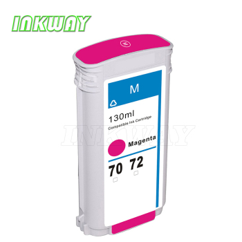 INK WAY Cartridge for hp 72 magenta ink C9372A Designjet T1120 T620 t1200 t1300 t610ps etc. image