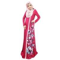 Dubai Fas Kaftan Kadınlar Uzun Elbise Abaya Jilbab Islam Arap Giyim Elbiseler