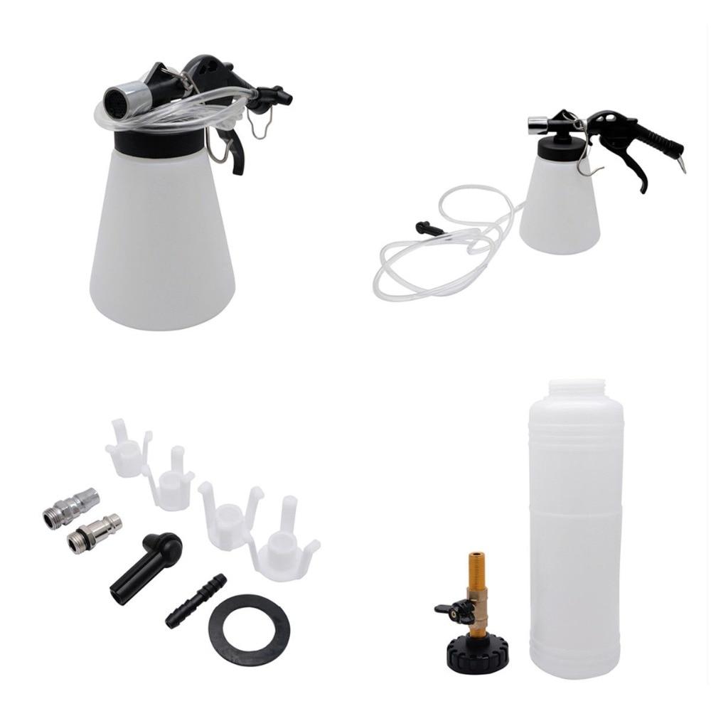 Pneumatic Brake Bleeding /& Fluid Extractor Kit with PCL Air Fittings Bleeder Set