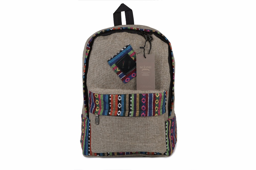 Canvas Backpack School Girls Backpack