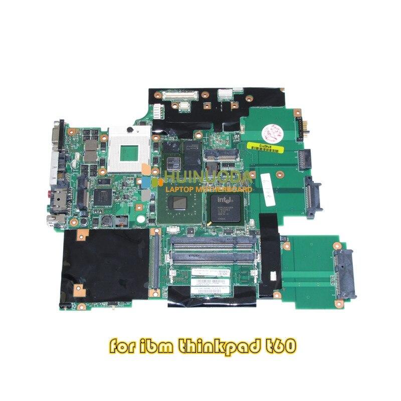 NOKOTION 42T0169 42W2207 44C3716 For Lenovo thinkpad T60P Series laptop motherboard 15.4 Inch ATI V5250 256MB 945PM DDR2 41w1364 motherboard main board for ibm lenovo thinkpad t60 t60p 14 1 notebook ati x1300 945pm ddr2 free cpu