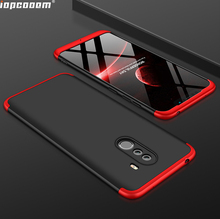 Phone Cases For Oneplus 6 Case 360 Full Protective 3 in 1 Matte Hard PC Shockproof Cover