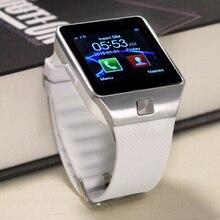 """Bluetooth smart watch dz09s para xiaomi teléfono android pk gt08 GV18 A1 SIM soporte inteligente de pulsera del deporte Tasa de 1.54 """"TFT"""