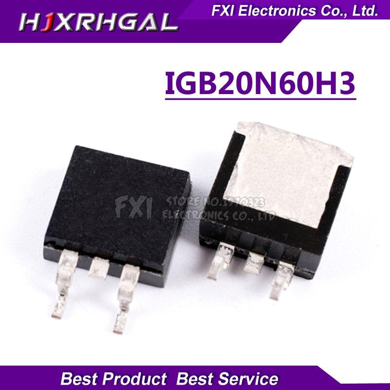 5 шт. IGB20N60H3 G20H603 TO 263 IGBT 600V 20A новый оригинальный|Интегральные схемы|   | АлиЭкспресс