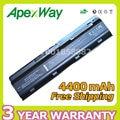 Apexway 4400 мАч 6 элементная батарея для HP DM4 MU06 MU09 CQ32 CQ42 G42 G72 G62 для Pavilion g6s g6t g6x для Presario CQ43 CQ56 CQ62