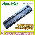 Apexway 4400 mah bateria de 6 células para hp dm4 mu06 mu09 cq32 cq42 G42 G62 G72 para Pavilion g6s g6t g6x para Presario CQ43 CQ56 CQ62