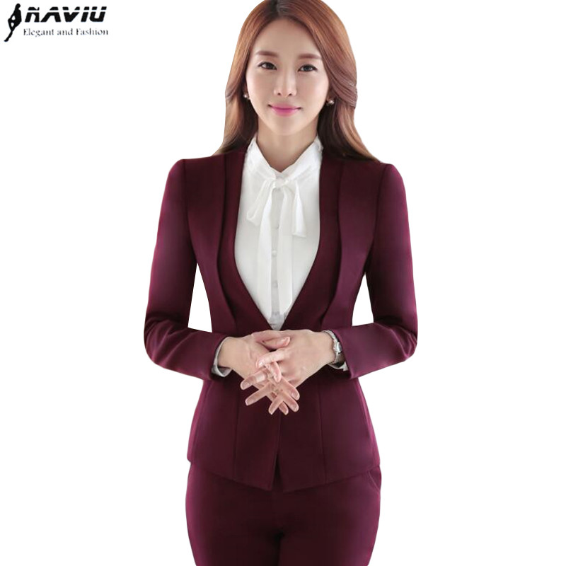 Compare Prices on Women Formal Wear Pant Suits- Online Shopping ...