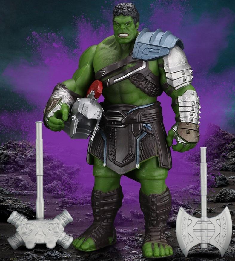 Action Toy Figures Hot Collect Toys HULK PVC Toy Big Size iron Man Hulk Hulkbuster 30cm Model Toys (no original packing)