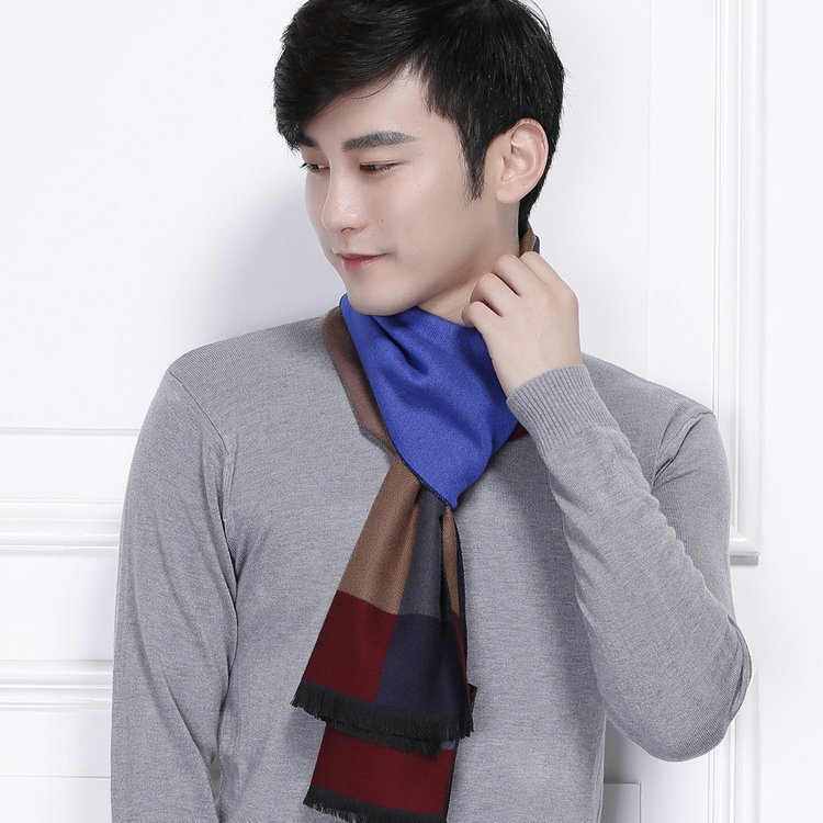 Manufacturers Wholesale 2016 New Korean Version Fashion Trend Gentleman font b Tartan b font Scarf Cotton