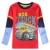 2 t-6 t 2016 nueva nova niños camiseta camiseta de los muchachos de bebé ropa de niño camisa de manga completa camisetas nova niños de dibujos animados de algodón marca