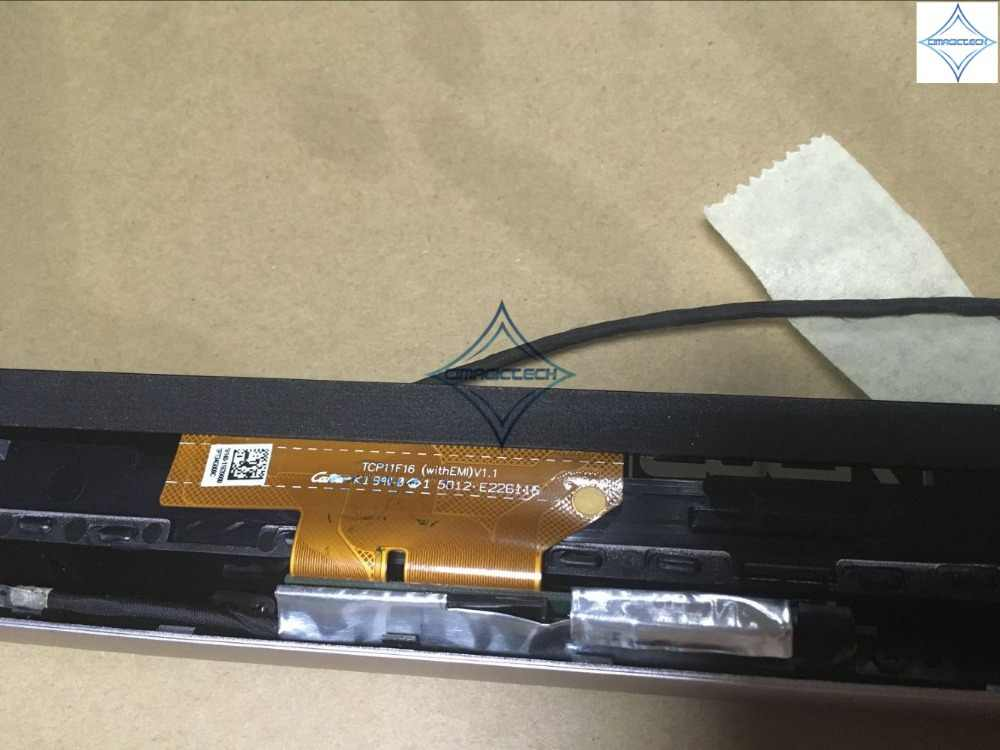 11.6 ''дюймов для ASUS X202 X202E S200 S200E Q200E Сенсорный экран емкостный дигитайзер стеклянная панель объектив с рамкой кадра TCP11F16