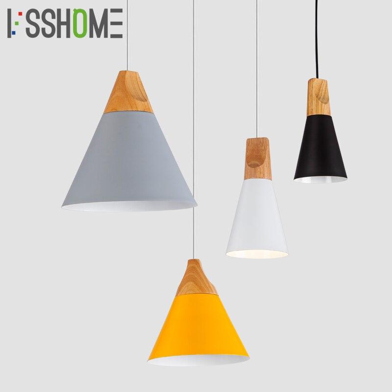 [VSSHOME] Dining Room Pendant Lights Indoor Bedroom Lighting Living Room Pendant <font><b>Lamp</b></font> <font><b>Decoration</b></font> AC90-260V E27 Holder Multicolor