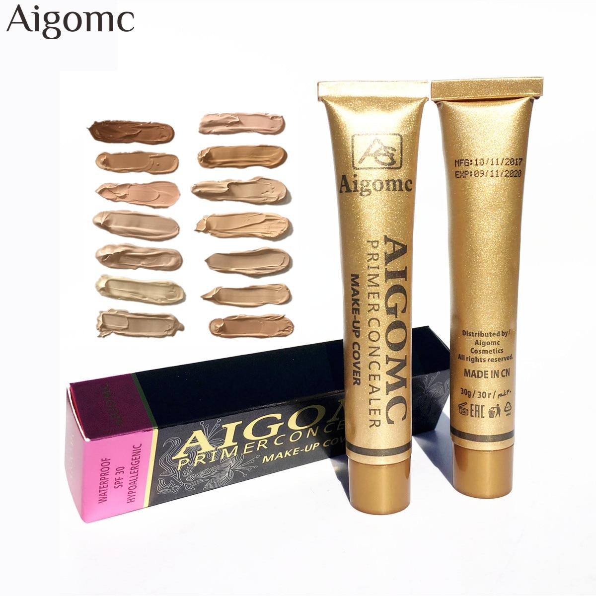 Nouvelle Fondation Base Mat Liquide Maquillage Correcteur Couverture Complète Étanche Crème Pour Le Visage Blanchiment Contour Amorce Fondation