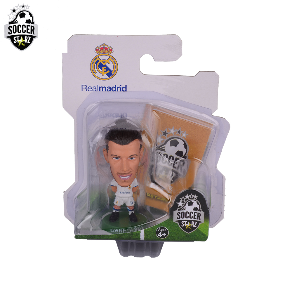 Soccerstarz Hand-painted 5cmGareth Bale(NEW SCULPT)Home Kit(2017 version)Figures Fashion football star doll value for Collection