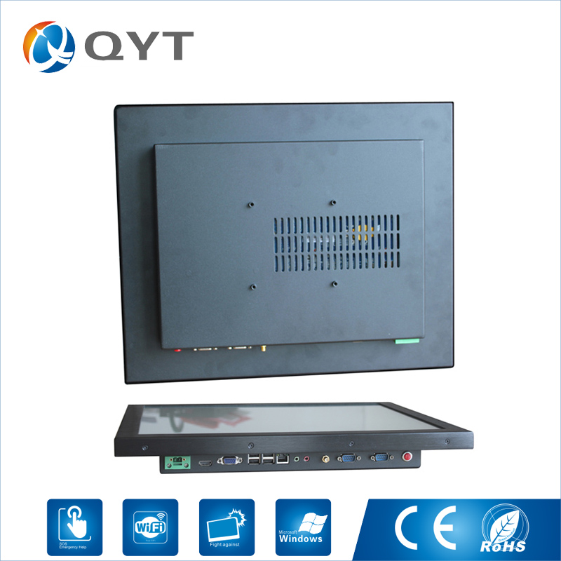 17 industriel Tout En Un Pc Intel j1900 Sans Ventilateur Silencieux Panneau Pc avec 2 gb RAM 32g DDR3 tactile résistif Résolution 1280x1024