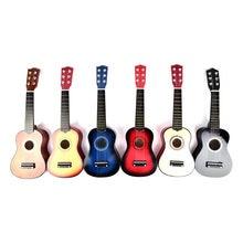 IRIN Ukulele 21 Zoll Ukulele Sopran 4 Saiten Hawaiian Fichte Linde Gitarre Saiten Instrument Für Anfänger Frühen Bildung