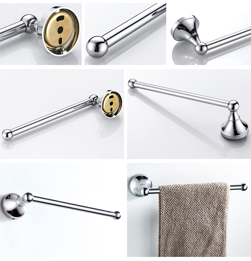 chrome towel ring towel bar towel holder 3