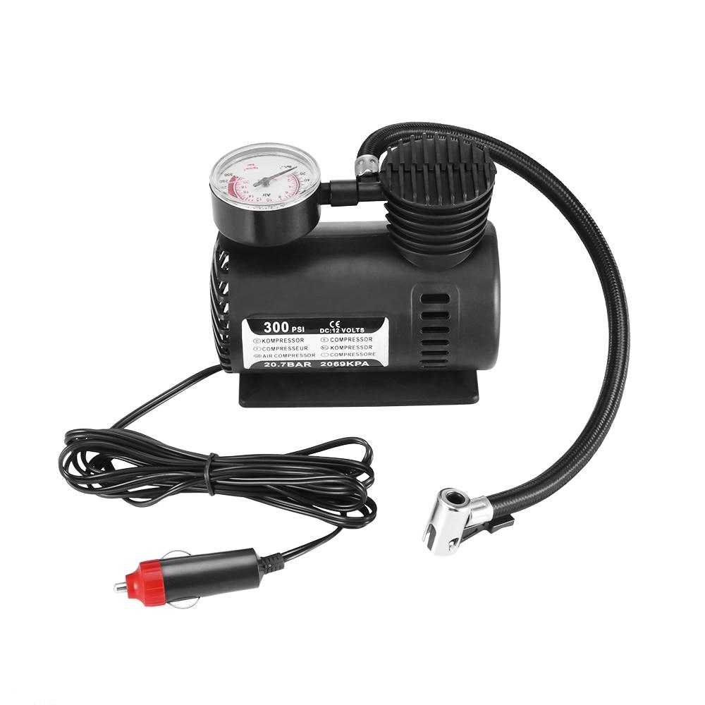 Tire Inflator Car Air Pump Compressor 300psi For Car Bicycle