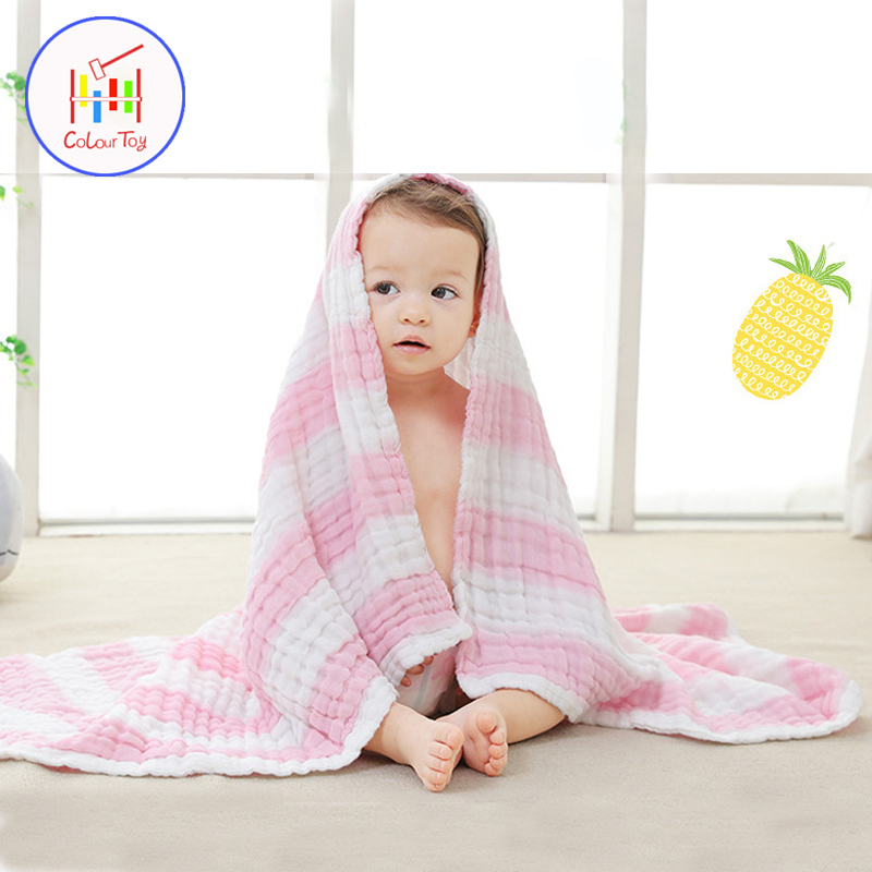 Cute Baby Bath Towels 2018 Toddler 100% Cotton Bathrobe Newborn Girls Boys Kids Washcloth Very Soft Skincare Towels Microfiber