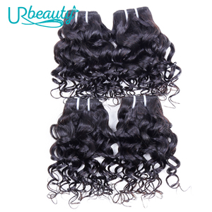 Image 5 - 25g/pc water wave bundles brazilian hair weave bundles 100% human hair extension natural color UR Beauty remy hair